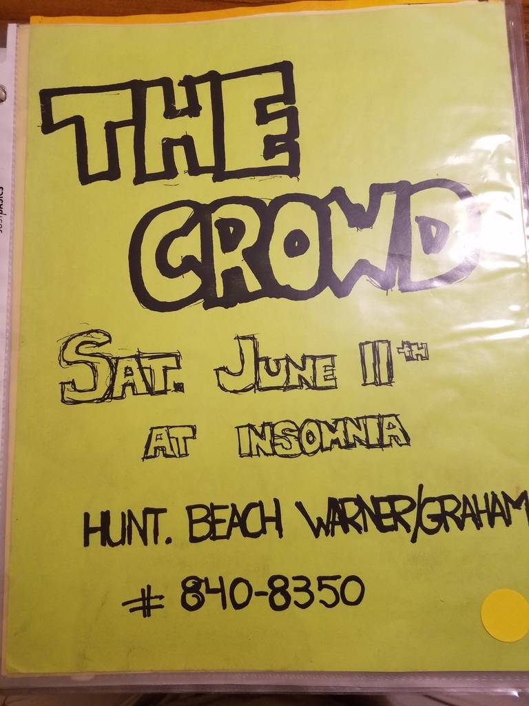 $10 PUNK FLYER - CROWD