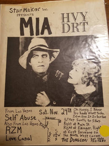 $10 PUNK FLYER - MIA HVY DRT
