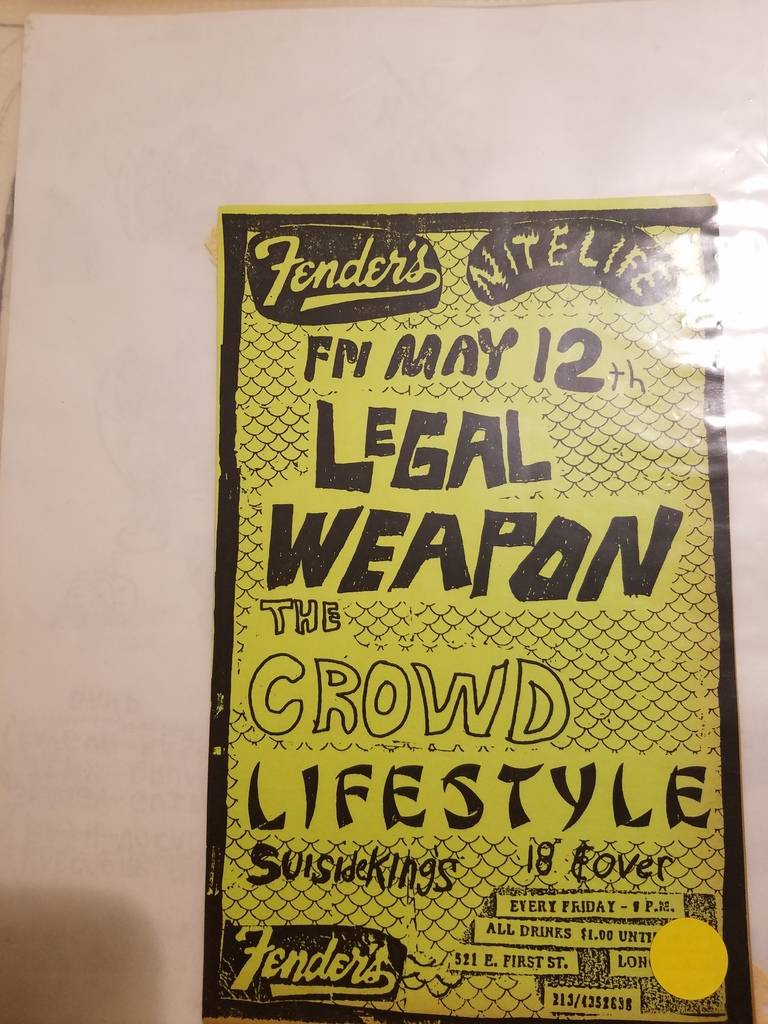 $10 PUNK FLYER - LEGAL WEAPON CROWD LIFESTYLE