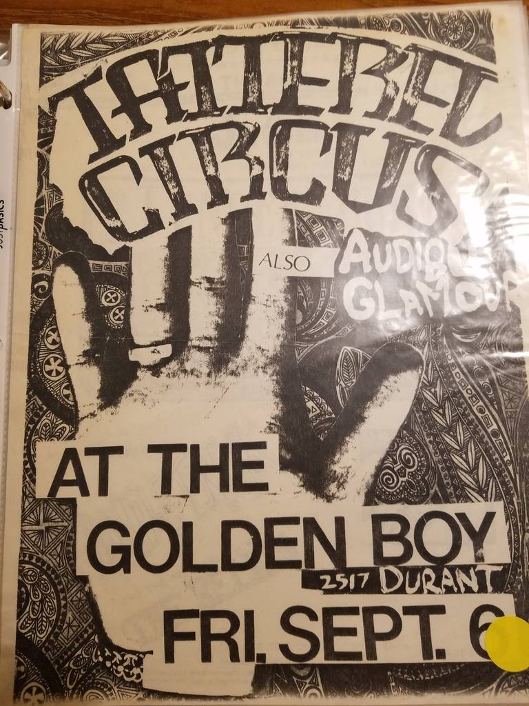 $10 PUNK FLYER - TATTERED CIRCUS