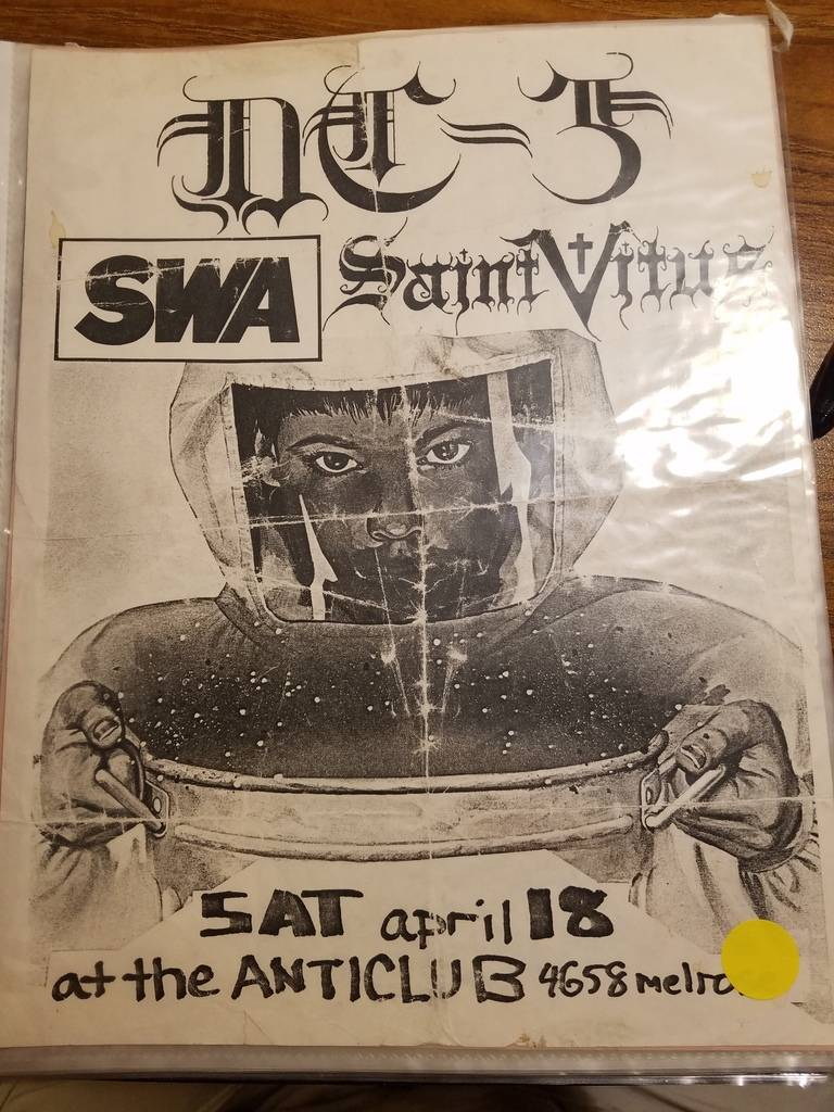 $10 PUNK FLYER - SAINT VITUS