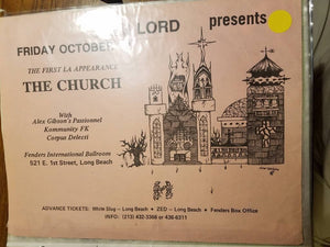 $10 PUNK FLYER - CHURCH