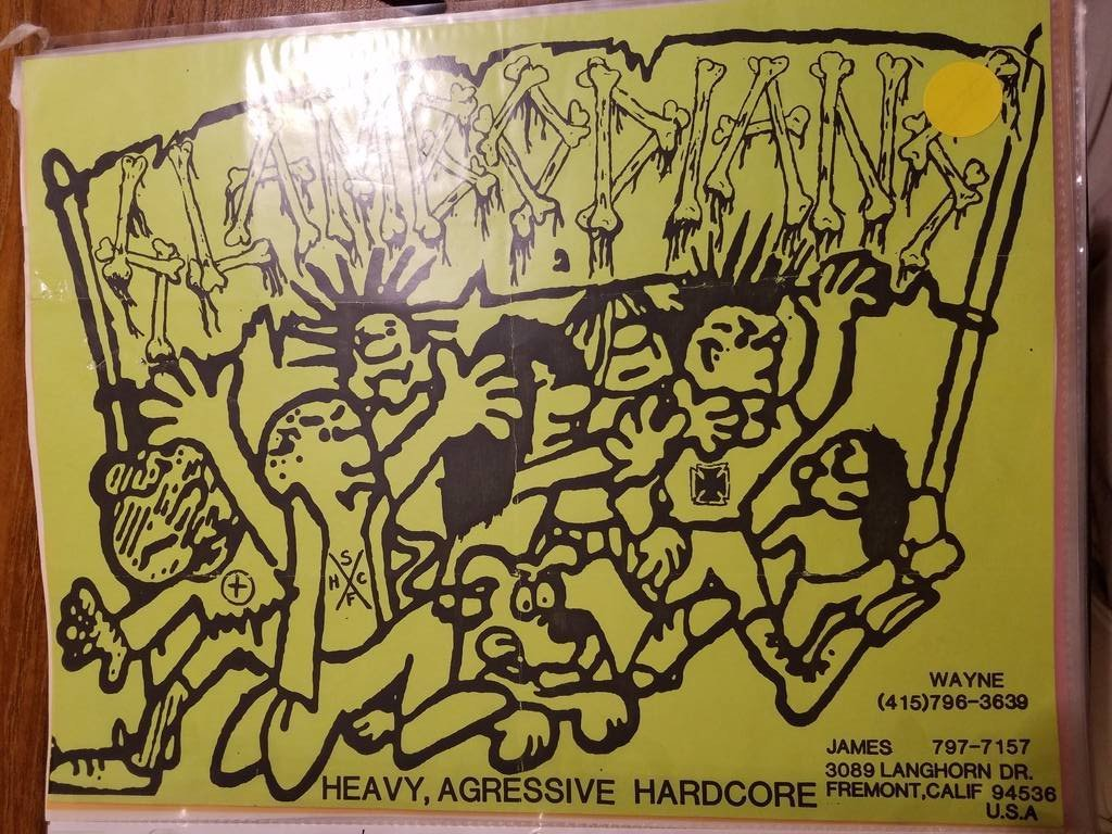 $10 PUNK FLYER - SLAMBODIANS