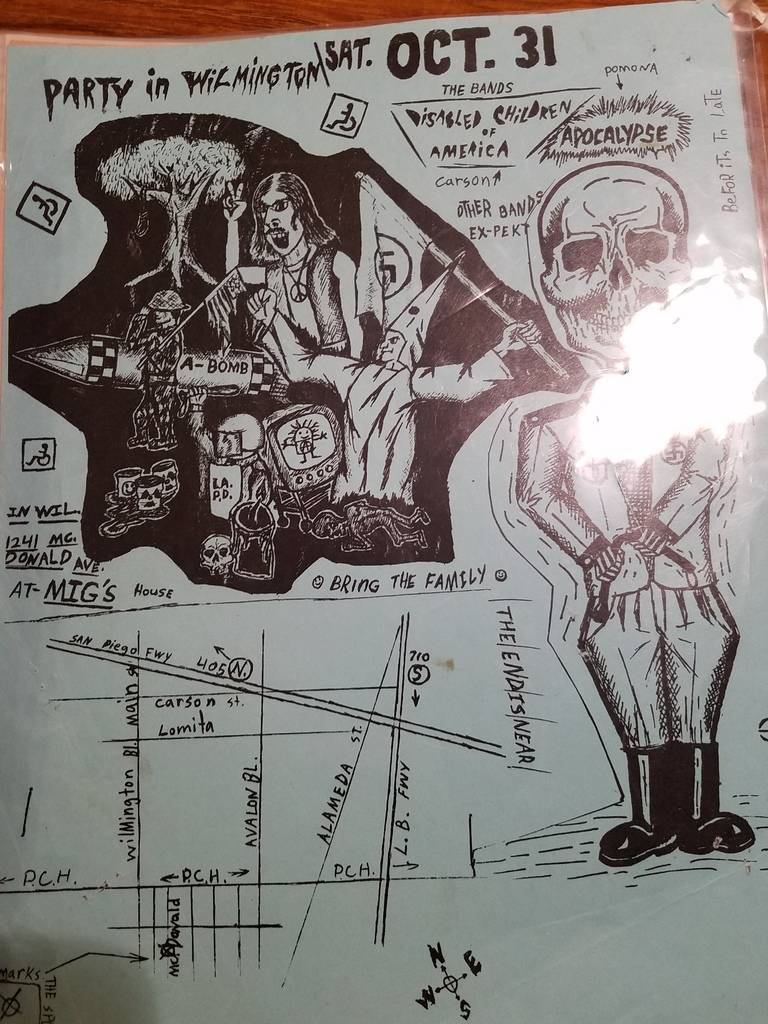 $10 PUNK FLYER - DISABLED CHILDREN OF AMERICA