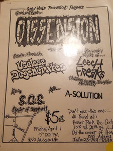 $10 PUNK FLYER - DISSENSION