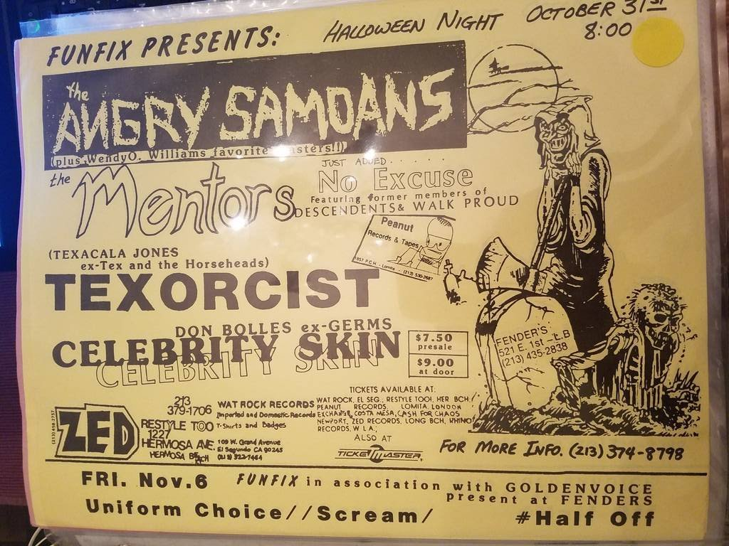 $10 PUNK FLYER - ANGRY SAMOANS MENTORS