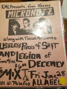 $10 PUNK FLYER - MICRONOTZ