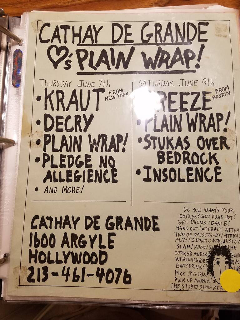 $10 PUNK FLYER - KRAUT DECRY PLAIN WRAP