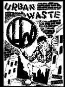 URBAN WASTE - SCARED back patch