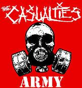 CASUALTIES - ARMY back patch