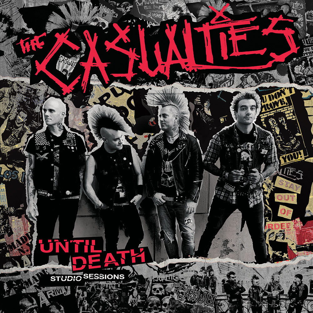 Casualties, The ‎- Until Death Studio Sessions NEW CD