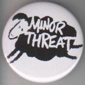 MINOR THREAT - SHEEP big button