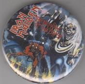 IRON MAIDEN - BEAST big button