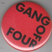 GANG OF FOUR - GANG OF FOUR big button