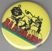 BAD BRAINS - LION big button