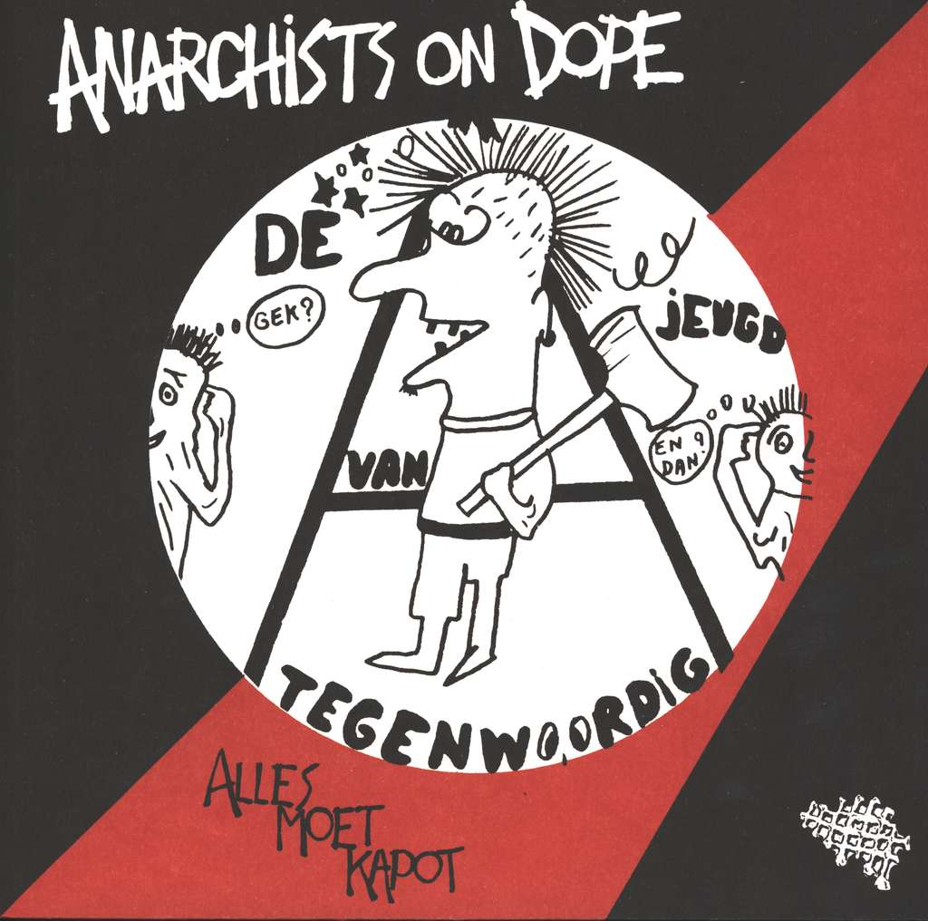 De Jeugd Van Tegenwoordig / Anarchists On Dope ‎- Split NEW LP