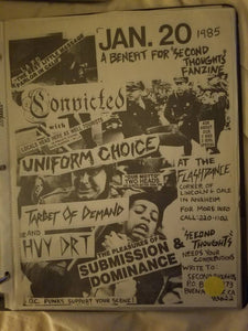 $15 PUNK FLYER CONVICTED UNIFORM CHOICE TARGET OF DEMAND
