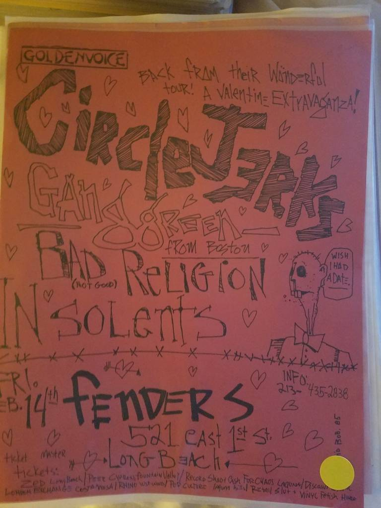 $15 PUNK FLYER CIRCLE JERKS, BAD RELIGION, INSOLENTS