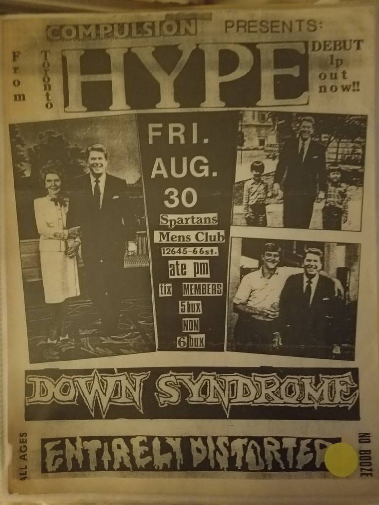 $15 PUNK FLYER HYPE DOWN SYNDROME