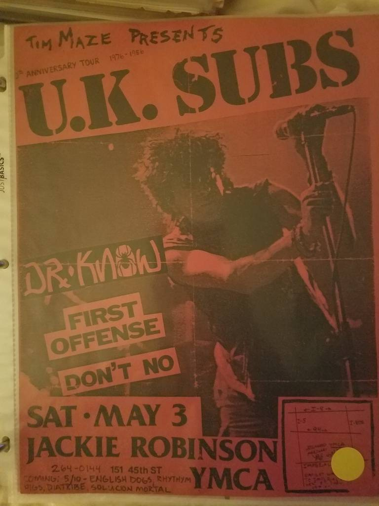 $15 PUNK FLYER UK SUBS DR KNOW