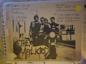 $5 PUNK FLYER - AFFLICTED