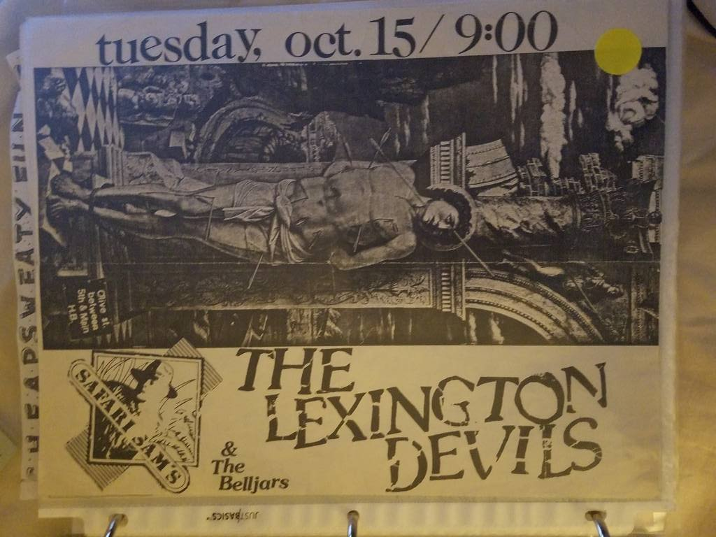 $5 PUNK FLYER - LEXINGTON DEVILS