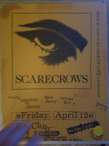 $5 PUNK FLYER - SCARECROWS