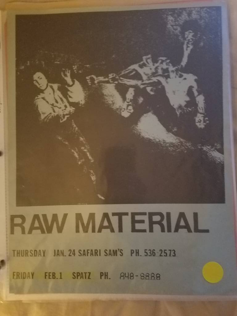 $5 PUNK FLYER - RAW MATERIAL