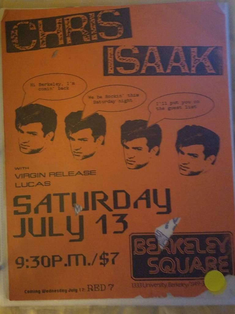 $5 PUNK FLYER - CHRIS ISAAK