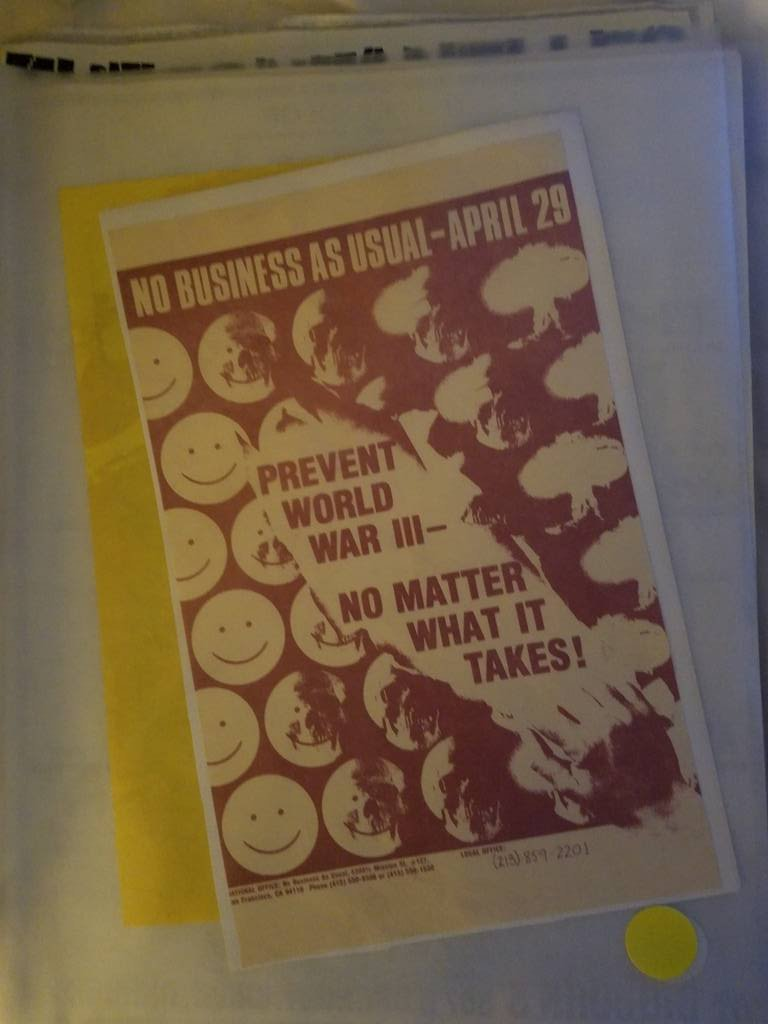 $5 PUNK FLYER - NO BUSINESS AS USUAL