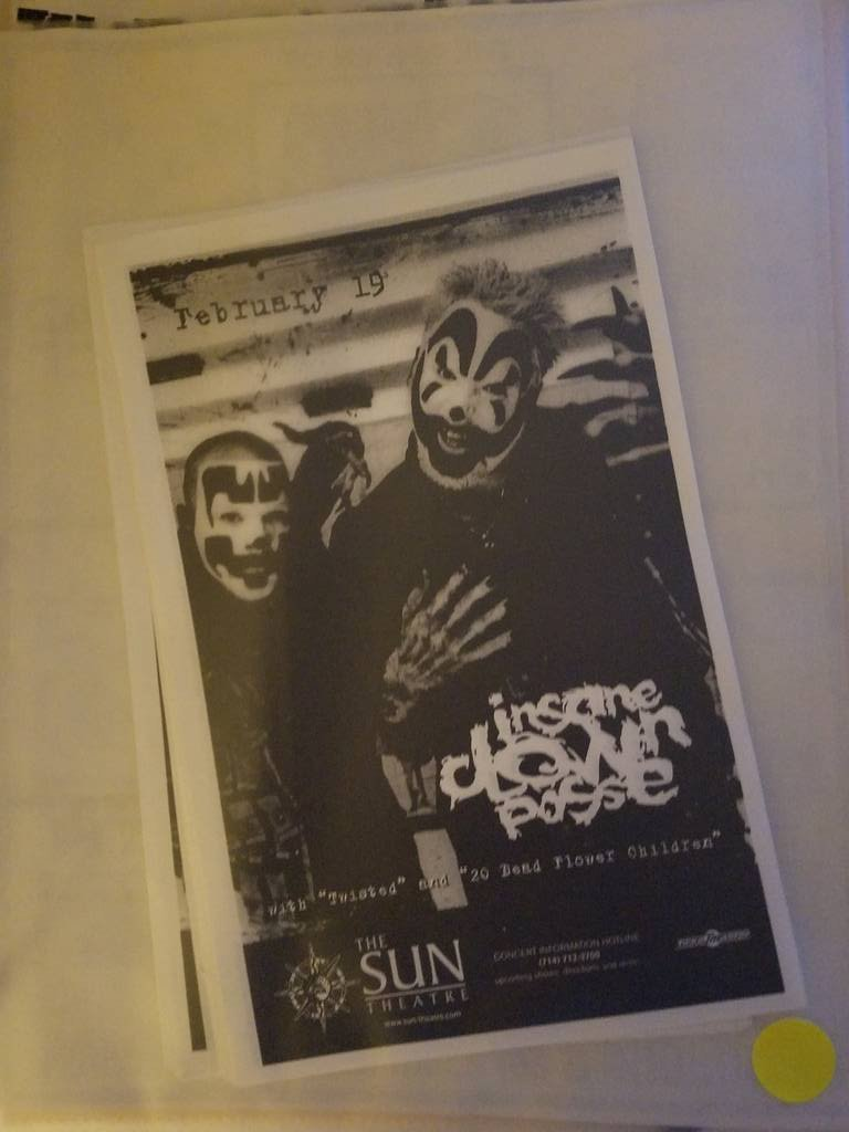 $5 PUNK FLYER - INSANE CLOWN POSSE