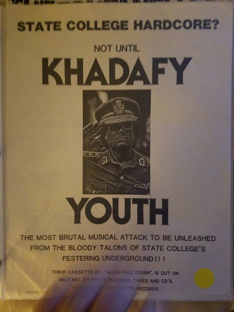 $5 PUNK FLYER - KHADAFY YOUTH