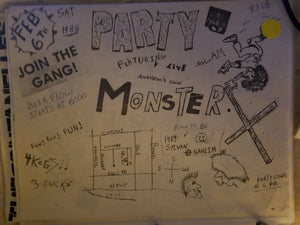 $5 PUNK FLYER - MONSTER X