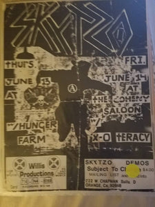 $5 PUNK FLYER - SKYTZO