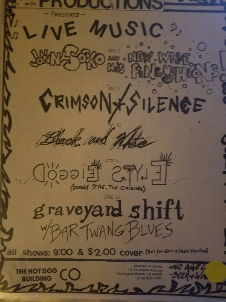 $5 PUNK FLYER - GRAVEYARD SHIFT DOGGIE STYLE