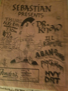 $5 PUNK FLYER - DR KNOW ILL REPUTE