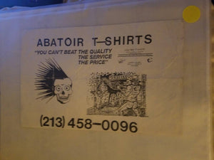 $5 PUNK FLYER - ABATOIR