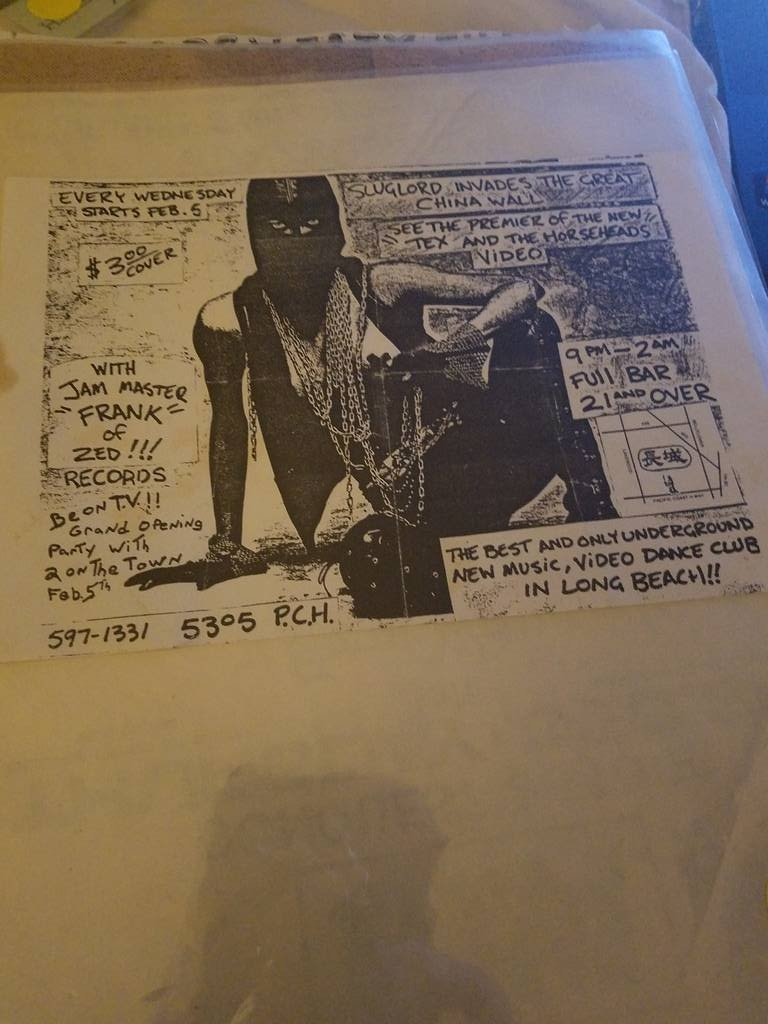 $5 PUNK FLYER - TEX AND THE HORSEHEADS