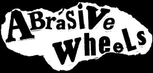 ABRASIVE WHEELS SPRAY LOGO patch