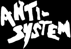 ANTI SYSTEM LOGO patch