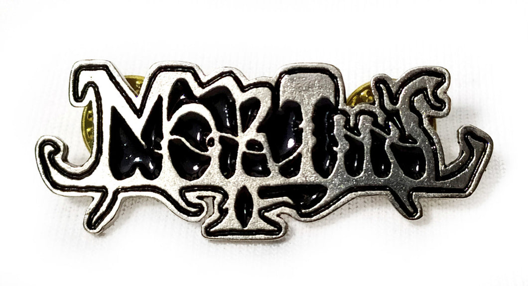 MORTIIS LOGO METAL BADGE