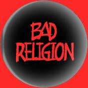 BAD RELIGION LOGO button