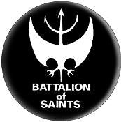 BATTALION OF SAINTS button