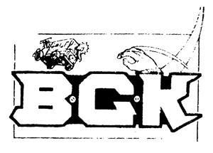 BGK LOGO patch
