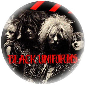 "BLACK UNIFORMS PIC 1.5""button"