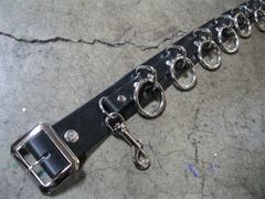 9 RING BONDAGE BELT