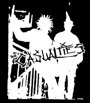 CASUALTIES PUNX patch