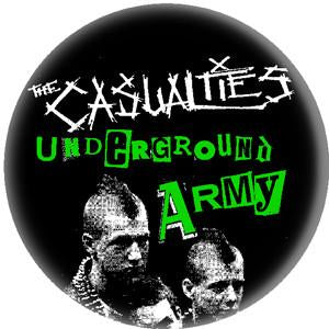 CASUALTIES UNDERGROUND button
