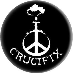 CRUCIFIX BOMB button