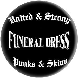 FUNERAL DRESS UNITED button